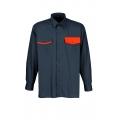 Camisa de trabajo asimétricos 2040.008